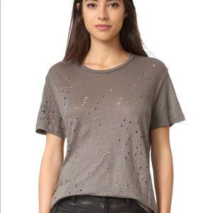 IRO shredded T Shirt